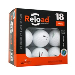 Reload 18-pack of Nike Golf Balls (Pack of 12)