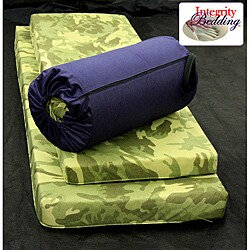 Large Roll-n-Go Memory Foam Orthopedic Camping Sleeping Pad