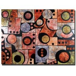 Garner Lewis 'Dimensions' Canvas Art