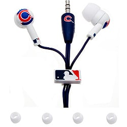 Nemo Digital MLB Chicago Cubs Earbud Headphones (pack of 12)