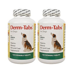 Derm-Tabs RS Dog 120-ct Supplements (Pack of 2)