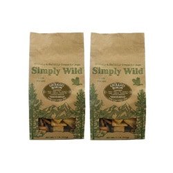 Simply Wild Grilled Bison 1.1-pounds Dog Treats (Pack of 2)