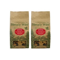 Simply Wild Venison & Apple 1.1-lb Dog Treats (Pack of 2)