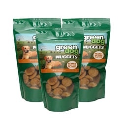 Green Dog 10.5-oz Peanut Butter Flavored Nuggets (Pack of 3)