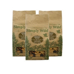 Simply Wild 1-lbs Grilled Bison Dog Treats (Pack of 3)