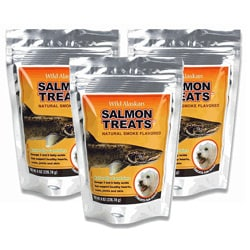 Wild Alaskan 8-oz Salmon Pet Treats (Pack of 3)