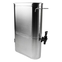 Narrow 3.5-gallon Stainless Steel Ice Tea/ Coffee Dispenser