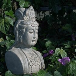 Stone Quan Yin Bust (Indonesia)