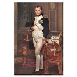 Jacques Louis David 'Portrait of Napoleon In His Work Room' Canvas Art