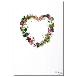 Kathie McCurdy 'Heart Strings' Canvas Art 7072515