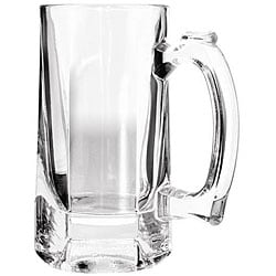 Anchor Hocking 10-oz Clarisse Beer Tankard Mugs (Pack of 12)