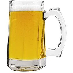 Anchor Hocking 12-oz Clarisse Beer Tankard Mugs (Pack of 12)