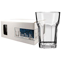 Challenger 14-ounce Iced Tea Beverage Glasses (Set of 12) 7072776