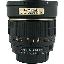 Rokinon 85mm Portrait Camera Lens