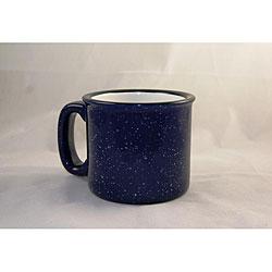Santa Fe Style Cobalt Blue Ceramic Mugs (Pack of 4)