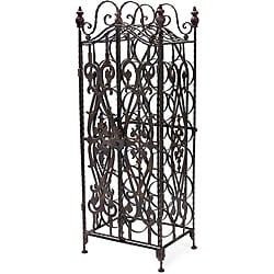 Wrought Iron Milano Wine Cellar