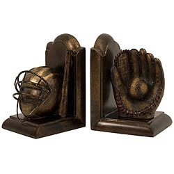 Set of 2 Argento Home Run Bookends