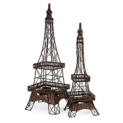 Provence Eiffel Tower Accents (Set of 2)