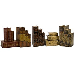 Set of 15 Venice Vivere Book Boxes