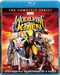Wolverine and the X-Men: The Complete Series (Blu-ray Disc) 7098409