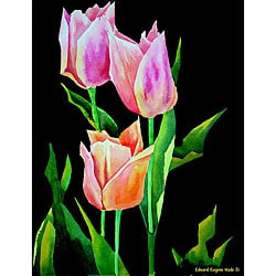 Ed Wade, Jr. 'Tulips 1' Art Print