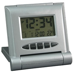 Equity by La Crosse 65902 Solar Hybrid Alarm Clock
