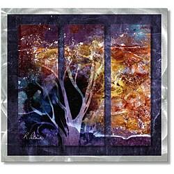 Ruth Palmer 'Explosive' Metal Wall Art