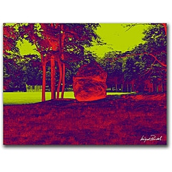 Miguel Paredes 'Enchanted Rock II' Gallery-wrapped Canvas Art