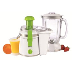 Nesco JB-50 American Harvest JB-50 2-in-1 White Juicer/ Blender