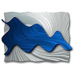 Ash Carl 'Hydrodynamic' Metal Wall Art