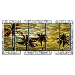 Ash Carl 'A Warm Afternoon' Metal Wall Art