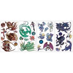 Bakugan Peel and Stick Appliques 7125574