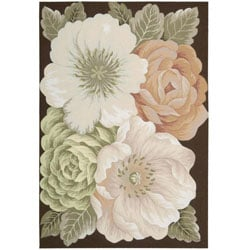 """Nourison Casual Hand-Hooked Fantasy Multi Rug (1'9"""" x 2'9"""") - 1'9 x 2'9 7134203"""