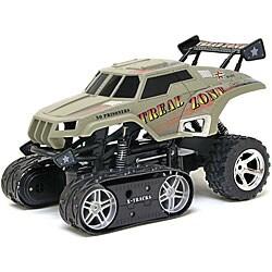 Radio Control 1:14-scale Camo Tread Zone Track Vehicle