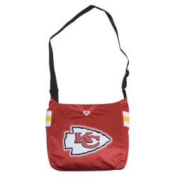 Little Earth Kansas City Chiefs MVP Jersey Tote Bag