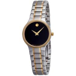 Movado Women's 'Sero' Two-Tone Watch