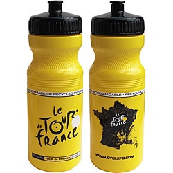 Tour De France Tour De Jour Series 24-oz Yellow Cycling Bottle