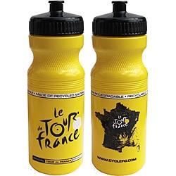 Tour De France Tour De Jour Series 24-oz Yellow Cycling Bottle