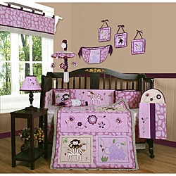 Animal Kingdom 13-piece Crib Bedding Set