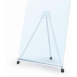 Testrite Silver Aluminum Adjustable Foldable Telescopic Economy Easel