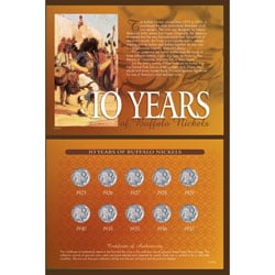 American Coin Treasures 10 Years of Buffalo Nickels