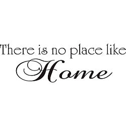Design on Style 'There is No Place Like Home' Vinyl Wall Art Quote