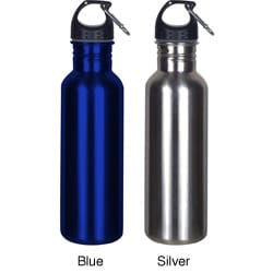 Worthy Wide Mouth Stainless Steel Sports Bottle (Case of 24)