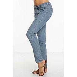 Rue Blue Women's St.Tropez Wash Skinny Jeans