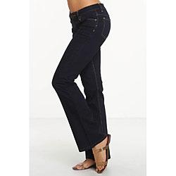 Rue Blue Women's Indigo Wash Flare Jeans