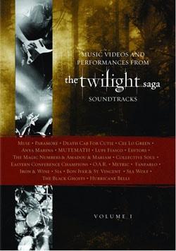 Music Videos And Performances From The Twilight Saga Soundtrack Vol 1 (DVD) 7209176