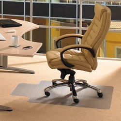 Floortex Cleartex Advantagemat PVC Chair Mat (46 x 60) with Anti-Static