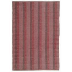 Handmade Thom Filicia Danforth Indian Red Outdoor Rug (4' x 6')