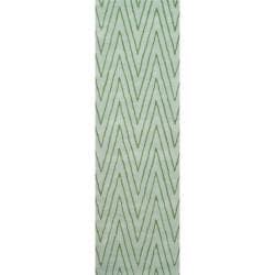 "Thom Filicia Griffith Park Sea Glass N.Z. Wool Runner (2'6 x 8') - 2'6"" x 8' 7214464"