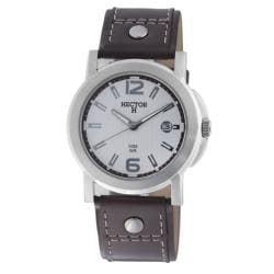 Hector H France Men's 'Fashion' Round Case Watch